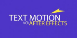 Text motion với After effect